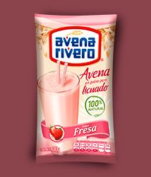 Avena Rivero en polvo sabor fresa 400gr