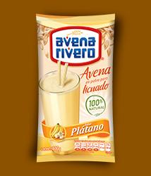 Avena Rivero en polvo sabor plátano 400gr