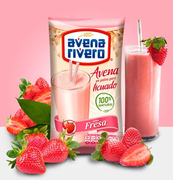Avena Rivero sabor Fresa