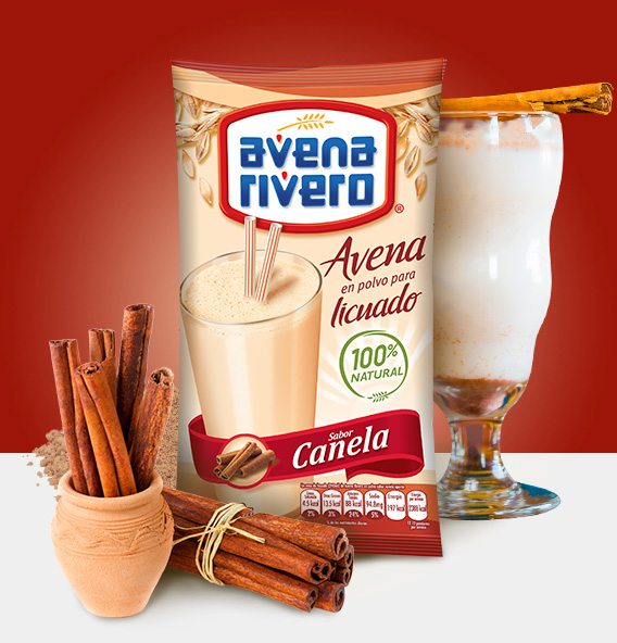 Avena Rivero sabor Canela