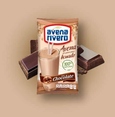 Avena Rivero sabor chocolate