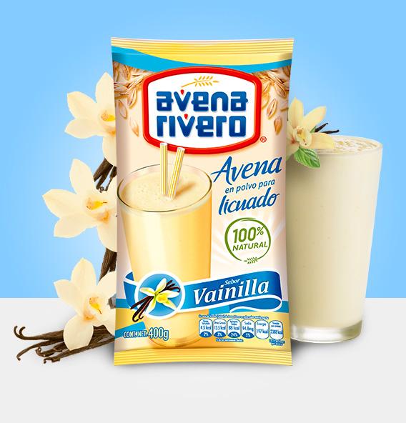 Avena Rivero en polvo sabor Vainilla