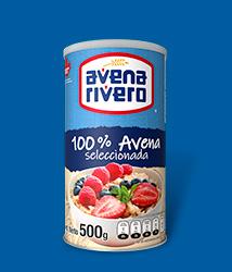Avena Rivero en Hojuela Seleccionada presentación Bote de 500g